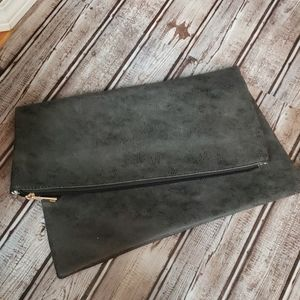 Bam Forever grey clutch bag